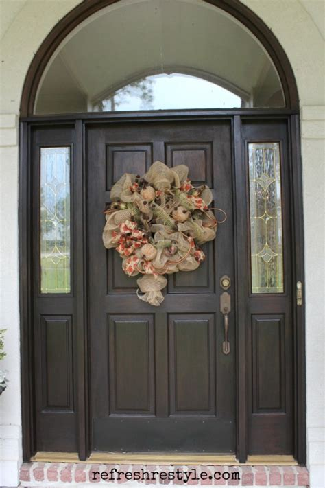 nice front doors nice exterior door stain 2 how to stain front door
