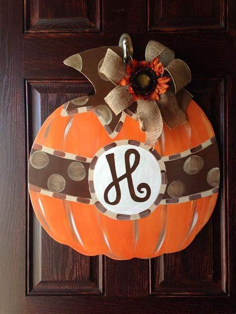 best 25 fall door hangers ideas on fall door