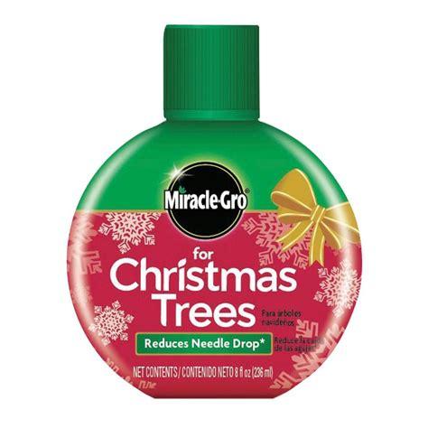 miracle gro christmas tree 8 oz formula 101660 the home