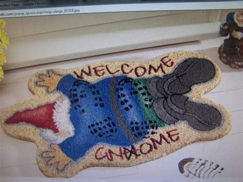 Gnome Welcome Mat by 17 Best Images About Rolling Out The Welcome Quot Mat Quot On
