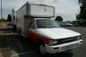 Toyota Truck For Sale By Owner 1989 Toyota Cargo Truck Sold For Sale By Owner