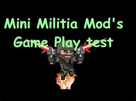 game mod apk ukuran mini mini militia mod game play with unlimited health apk