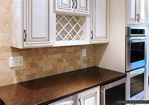 How To Install A Mosaic Tile Backsplash In The Kitchen travertine tile backsplash photos amp ideas