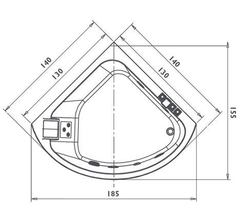 dimensioni vasche angolari casa immobiliare accessori dimensioni vasca angolare