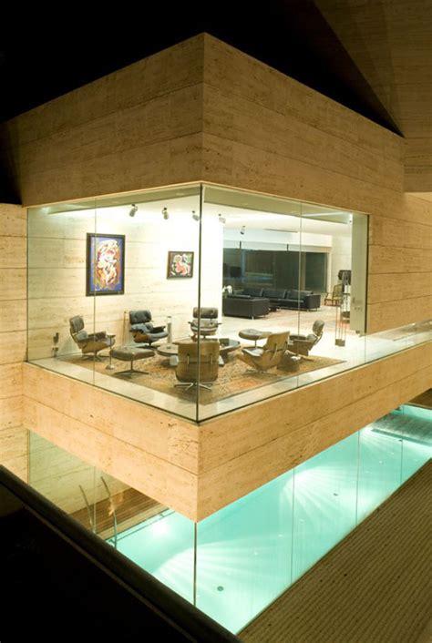 luxury house courtyard home design modern