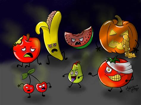 fruit zombies fruits by adrianamitozo on deviantart