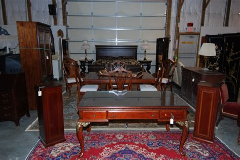 Furniture Setup by Estate Services A M Auctioneers And Appraisers