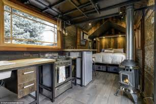 interiors of small homes designer tiny home hits the market for 74 000 daily mail