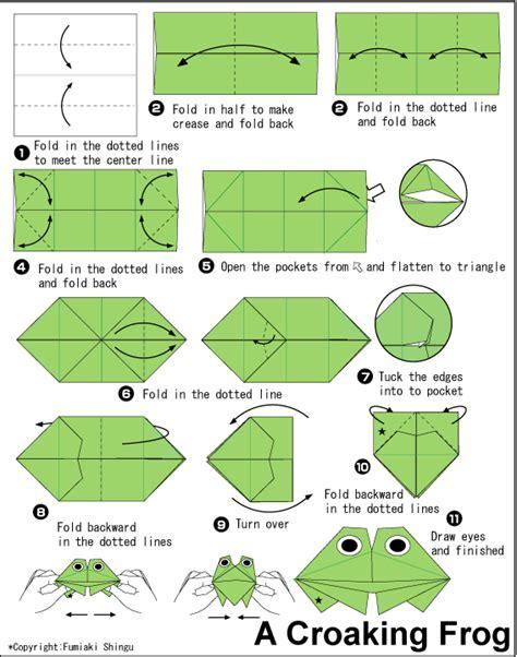 tutorial origami katak kopast beberapa gambar tutorial pembuat origami