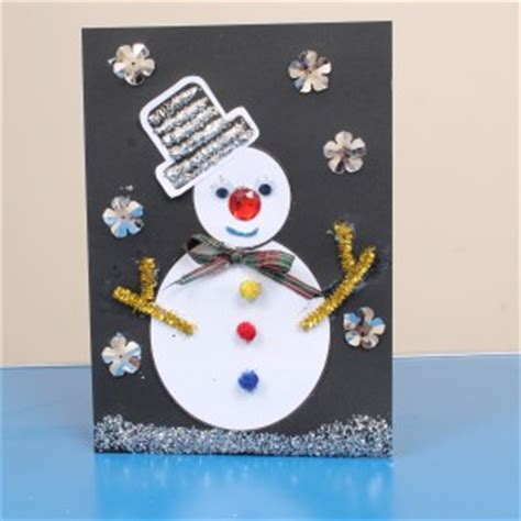 ideas for ks2 christmas cards christmas card craft idea for children early years