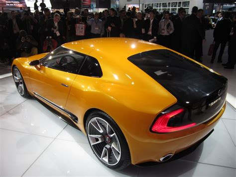 New Kia Sports Car Kia Gt4 Stinger Concept At 2014 Detroit Auto Show