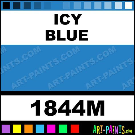 icy blue model acrylic paints 1844m icy blue paint