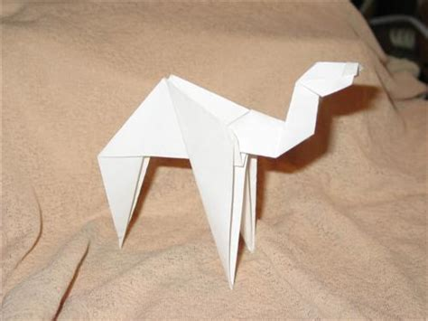 Origami Camel - need ideas activities for 3 4 year olds