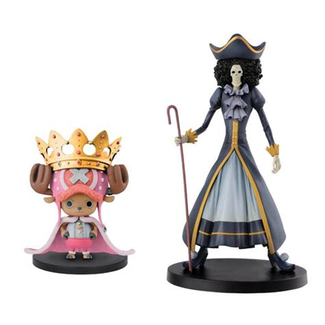 One Banpresto Chopper In one 15th anniversary chopper and brook figure set