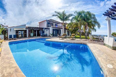 6 Bedroom Villas Rent Tenerife Villa To Rent In Amarilla Golf Tenerife With Pool