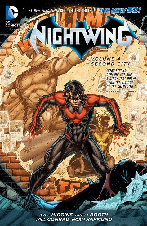 the blood is the the redwing saga volume 3 books review nightwing vol 4 second city comicbookwire