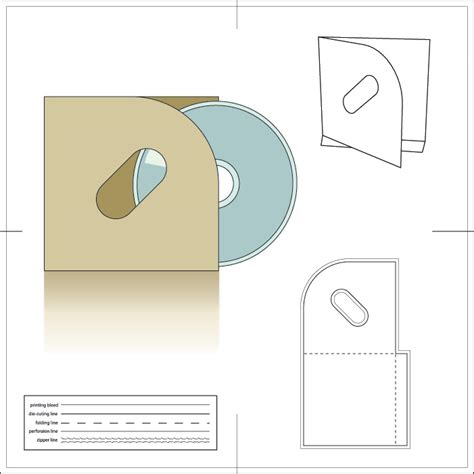 cd box cover template images templates design ideas