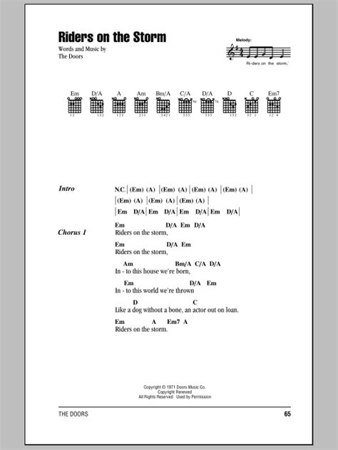 tutorial piano riders on the storm riders on the storm sheet music direct