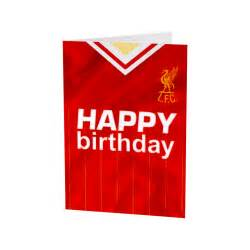 happy birthday retro shirt card liverpool fc official store