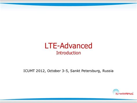 lte tutorial powerpoint lte advanced introduction tutorial from is wireless