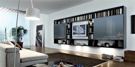 black built ins 18 modern style living rooms from misuraemme