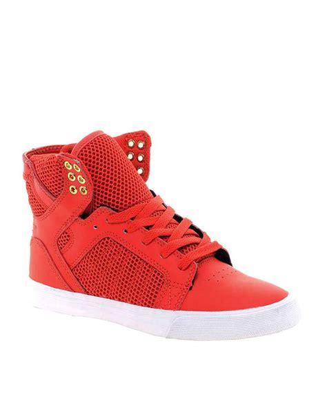 supra high top sneakers supra skytop high top sneakers