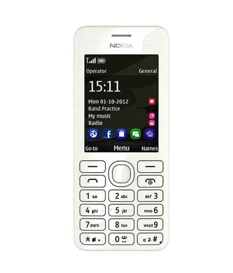 nokia asha 206 latest themes nokia asha 206 white price in india buy nokia asha 206