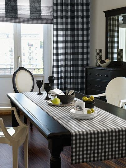 black and white buffalo check table runner www eyefordesignlfd blogspot com decorate with buffalo
