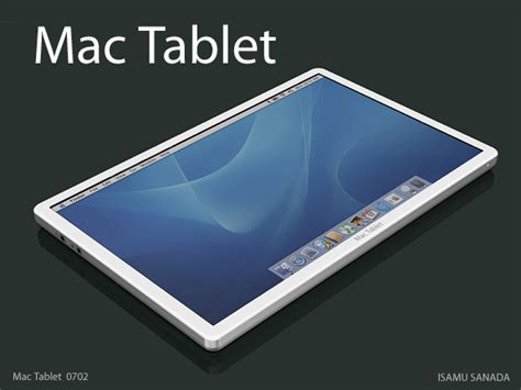 Mac Tablet apple tablet itablet concept trendland