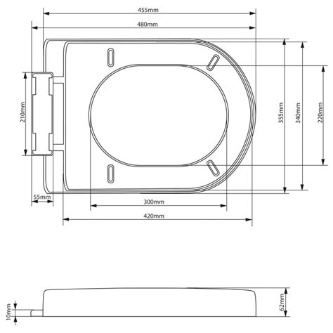 siege de toilette abattant wc siege toilette noir couvercle lunette assise