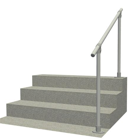 banister railing kits surface 29 outdoor stair railing easy install handrail simplified building