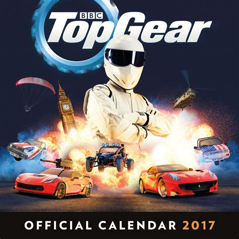 top gear official 2018 top gear calendarios 2018