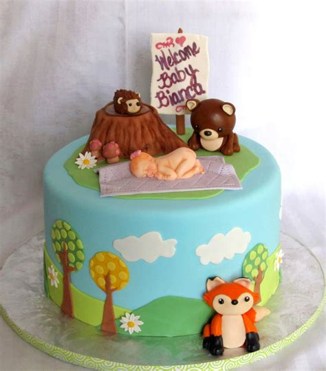 Woodland Critters Baby Shower by Woodland Critter Baby Shower Cakecentral
