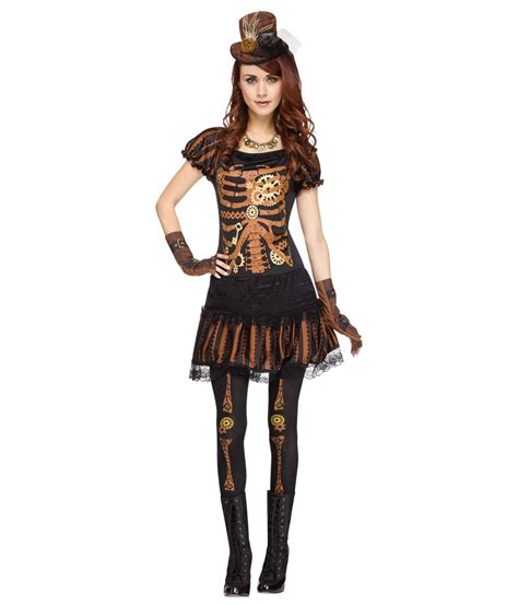 Kostum Panda By Melvie Shop steunk skeleton womens costume steunk costumes