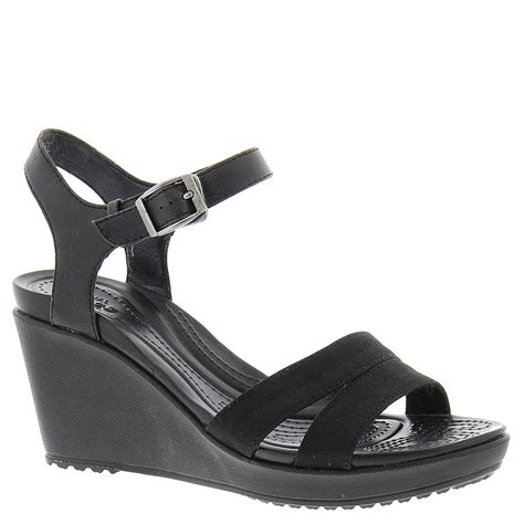 crocs leigh ii ankle wedge s sandal ebay