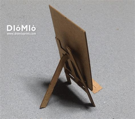 How To Make A Paper Easel - easel business card design diomioprint