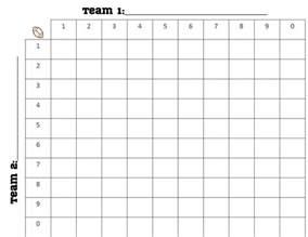 football square board template printable 100 square football board search engine