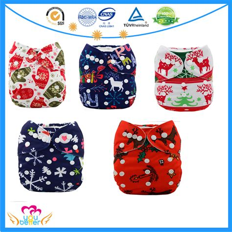 christmas pattern diapers the lowest price pul cloth diaper baby newborn cloth