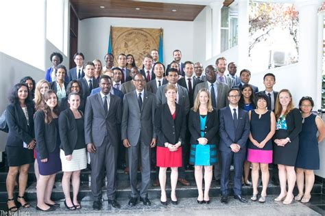 Wharton Mba Indian Students by President Kagame Meets Wharton School Students The New