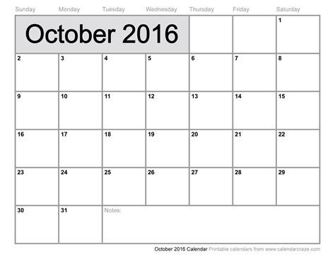 free printable planner 2016 october october 2016 calendar printable 2017 calendar with holidays