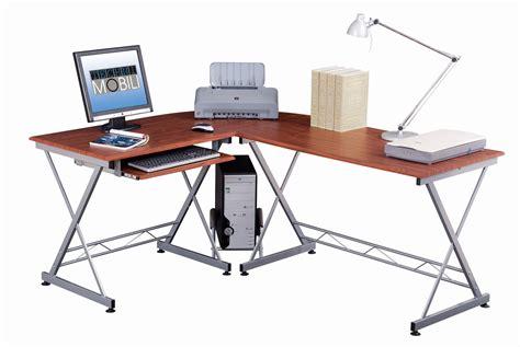 techni mobili l shaped computer desk mahogany techni mobili l shape computer desk mahogany 1 box by oj