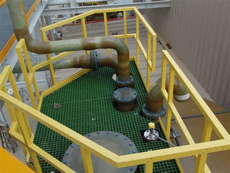 Platform Handrail Requirements fiberlgass ladders platforms and railings vpc