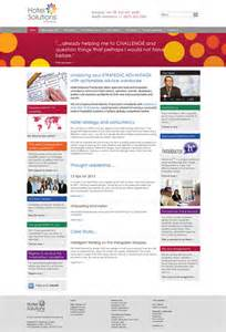 home page la partnership hotel solutions partnership website design southend
