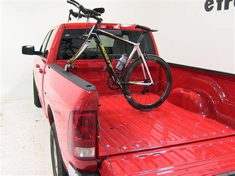 bike rack for pickup bed dodge ram pickup yakima locking bedhead single bike truck