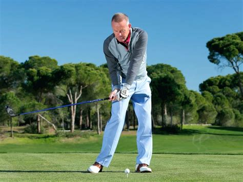 pure swing 5 cover the ball golf swing golf monthly