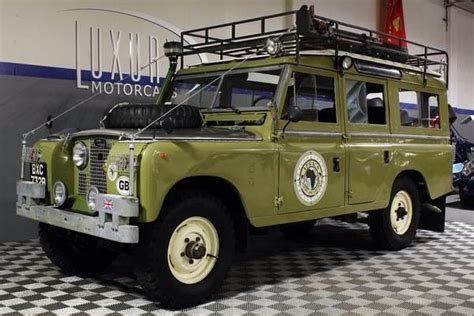 land rover safari for sale 1964 land rover 109 se2a safari wagon expedition
