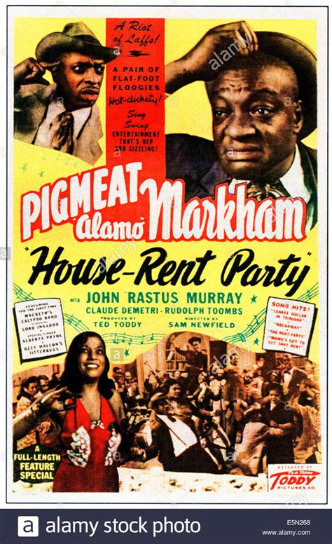 rent a house for a party house rent party top right dewey pigmeat markham 1946 stock photo royalty free