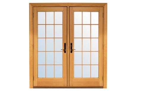 Andersen Hinged Patio Doors by Renewal By Andersen Colonial Grille Option Patio Doors