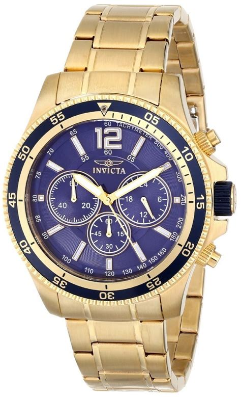 mens gold watches invicta watches for gold