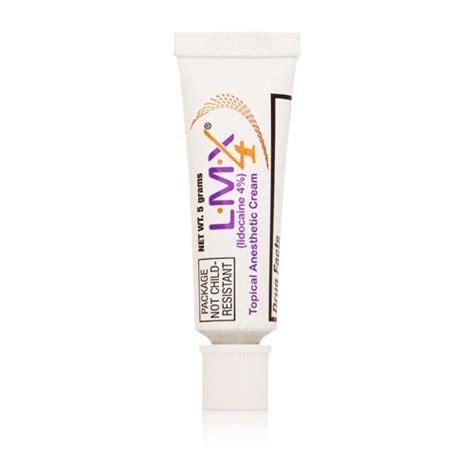 L Lmx l m x 4 topical anesthetic skin numb gel 5g